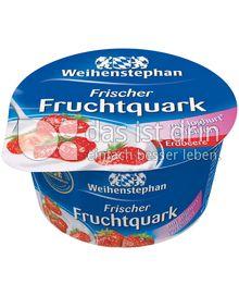 Produktabbildung: Weihenstephan Frischer Fruchtquark Erdbeere 150 g