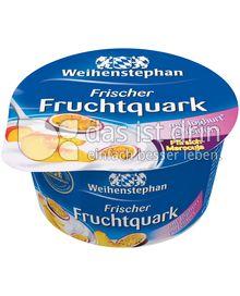 Produktabbildung: Weihenstephan Frischer Fruchtquark Pfirsich-Maracuja 150 g