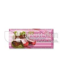Produktabbildung: Böhme Rhabarber Creme-Schokolade 100 g