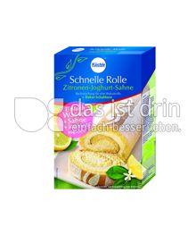 Produktabbildung: Küchle Schnelle Rolle Zitronen-Joghurt-Sahne 365 g