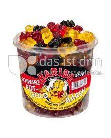 Produktabbildung: Haribo Schwarz-Rot-Goldbären 650 g