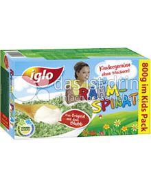 Produktabbildung: iglo Rahm-Spinat 800 g