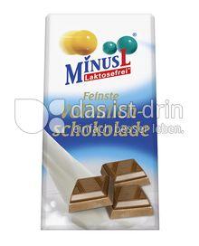 Produktabbildung: MinusL Laktosefreie Feinste Vollmilchschokolade 80 g