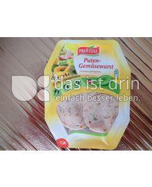 Produktabbildung: Provital Puten Gemüsewurst 100 g