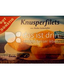 Produktabbildung: Gut & Günstig Knusperfilets 400 g