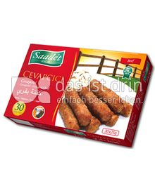 Produktabbildung: Saadet Halal Cevapcici 750 g