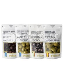 Produktabbildung: Dumet Amphisis - Griechische Oliven 200 g