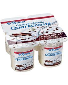 Produktabbildung: Bauer Stracciatella-Quarkcreme Stracciatella 500 g