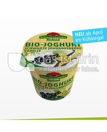 Produktabbildung: Schwarzwälder Bioland Fruchtjoghurt 3,8% Schwarze Johannisbeere-Vanille 150 g