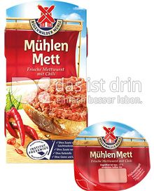 Produktabbildung: Mühlen Mett Frische Mettwurst mit Chili 125 g
