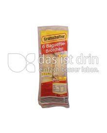 Produktabbildung: Grafschafter 6 Baguette Brötchen 300 g