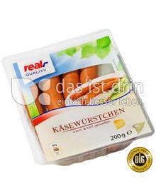 Produktabbildung: real,- Quality Käsewürstchen 200 g
