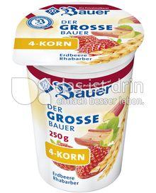 Produktabbildung: Bauer 4 Korn Erdbeere-Rhabarber 250 ml