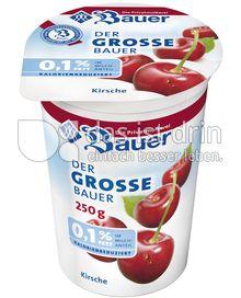 Produktabbildung: Bauer Der grosse Bauer 0,1% Joghurt Kirsche 250 ml
