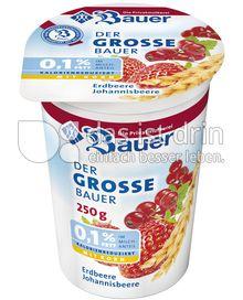 Produktabbildung: Bauer Der grosse Bauer 0,1% Joghurt Erdbeere- Joh.beere 250 ml