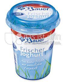 Produktabbildung: Bauer Frischer Joghurt mild Natur 250 ml