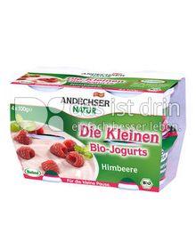 """Produktabbildung: Andechser Natur """"Die Kleinen Bio-Jogurts"""" Himbeere 100 g"""
