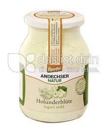 Produktabbildung: Andechser Natur demeter Jogurt mild Holunderblüte 500 g