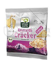Produktabbildung: Whole Earth Amaranth Cräcker Himalaya Salt 100 g