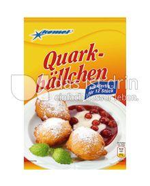 Produktabbildung: Komet Quarkbällchen 125 g