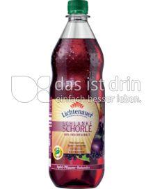 Produktabbildung: Lichtenauer Schlanke Schorle Apfel-Pflaume-Holunder 1 l