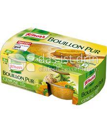 Produktabbildung: Knorr Bouillon Pur Gemüse