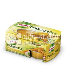 Produktabbildung: Knorr Bouillon Pur Huhn