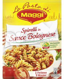 Produktabbildung: Maggi La Pasta - Spirelli in Sauce Bolognese 155 g