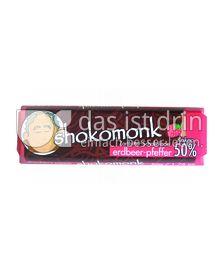 Produktabbildung: shokomonk Zartbitter Schokolade erdbeer-pfeffer 50 g