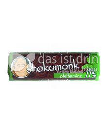 Produktabbildung: shokomonk Extrabitter Schokolade pfefferminz 50 g