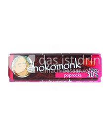 Produktabbildung: shokomonk Zartbitter Schokolade poprocks 50 g