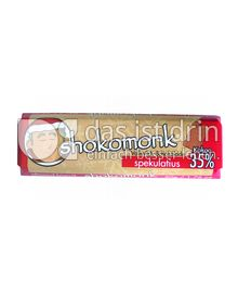 Produktabbildung: shokomonk Vollmilch Schokolade spekulatius 50 g