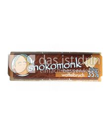Produktabbildung: shokomonk Vollmilch Schokolade waffelbruch 50 g