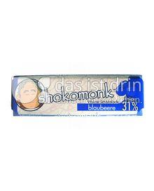 Produktabbildung: shokomonk Weisse Schokolade blaubeere 50 g