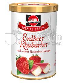 Produktabbildung: Schwartau Spezialitäten Erdbeer Rhabarber 350 g