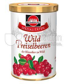 Produktabbildung: Schwartau Spezialitäten Wild Preiselbeeren 440 g