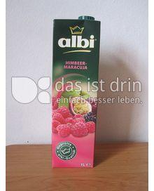 Produktabbildung: albi Himbeer-Maracuja 1 l