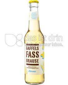 Produktabbildung: Gaffel Gaffels Fassbrause Zitrone 330 ml