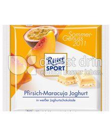 Produktabbildung: Ritter Sport Pfirsich-Maracuja 100 g