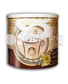 Produktabbildung: shokomonk Weiße Trinkschokolade mit Vanille 200 g
