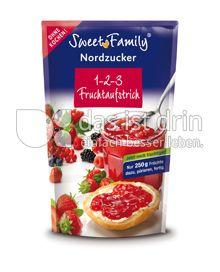 Produktabbildung: Sweet Family Nordzucker 1-2-3 Fruchtaufstrich 200 g