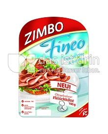 Produktabbildung: Zimbo Ofengebackener Fleischkäse 100 g