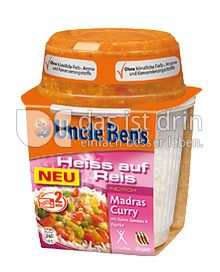 Produktabbildung: Uncle Ben's® Heiss auf Reis Indisch Madras Curry 300 g