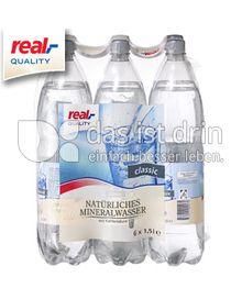 Produktabbildung: real,- QUALITY Natürliches Mineralwasser 0,5 l