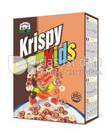 Produktabbildung: Barnhouse Krispy Kids mit Miniringen aus Schoko und Haselnuss 300 g