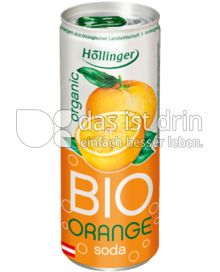 Produktabbildung: Höllinger Bio Orange Soda 250 ml