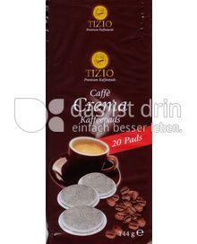 Produktabbildung: Tizio Premium Kaffeepads Café Crema 20 St.