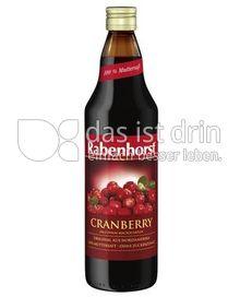 Produktabbildung: Rabenhorst Cranberry 750 ml