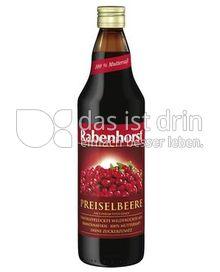 Produktabbildung: Rabenhorst Preiselbeere 750 ml