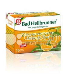 Produktabbildung: Bad Heilbrunner® Zitronenverbene-Orange Tee 15 St.